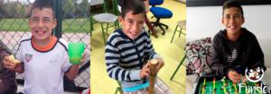 Juan Camilo Martínez Chaparro 12 años