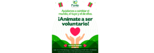 ¡Anímate a ser voluntario!