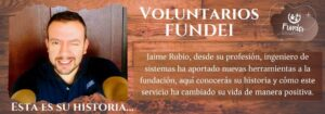 Podcast voluntarios/ Jaime Rubio